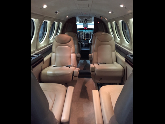 King Air Interior